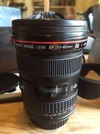 Canon 17-4-L USM