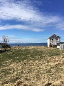 Vacant Oversized Oceanfront Lot in Conception Bay South