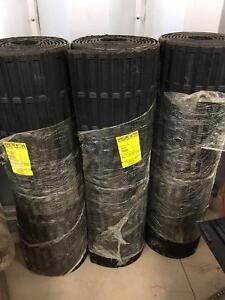 3 Nyracord rubber mat rolls 4x22 $250 each or $500 for all 3