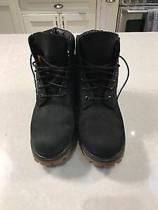 Mens Timberland 6-inch Boot Black - Size 8