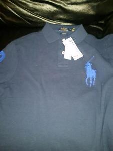 NWT POLO RALPH LAUREN BIG PONY POLO shirt top RL SIZE Medium
