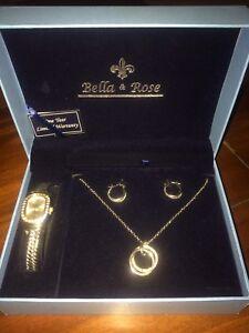 Bella & Rose Jewellery Set Highland Park Gold Coast City Preview