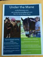 Equestrian Assisted Learning and Family Wellness