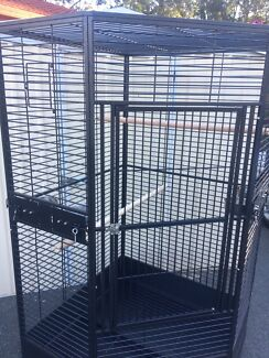 BRAND NEW - very LARGE corner cage on wheels $460ea BARGAIN!!