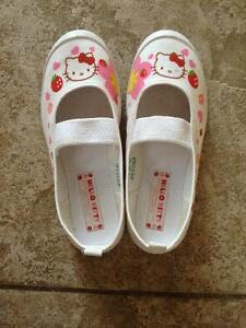 Hello Kitty Indoor Shoes Size 11 (18cm) & 13 (19cm)