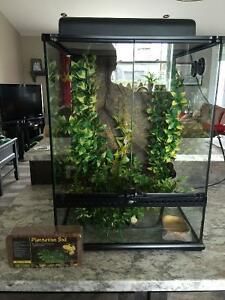 Exo Terra Terrarium and Starter Kit