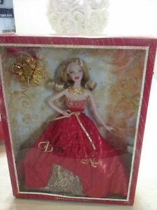 Mattel, 2014 Happy Holidays Barbie doll BDH21