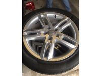 2013 AUDI A6 ALLOY WHELS WITH TYRES