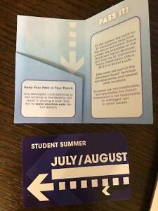 Student Summer Bus Pass
