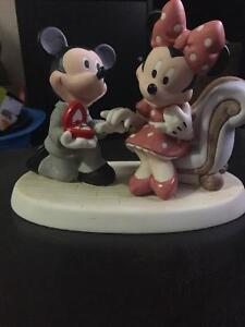 Mickey and Minnie Mouse Engagement Collectible