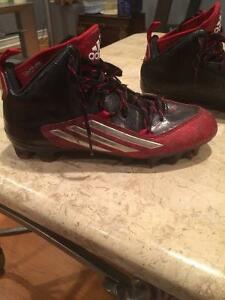 adidas football cleats and girdle