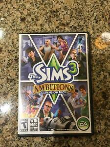Sims 3 Ambitions Expansion Pack+Box/Paperwork