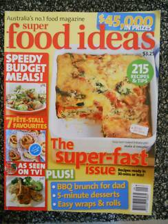 Free food ideas and good taste magazines magazines gumtree super food ideas magazine issue 85 sept 2007 recipes fast meals forumfinder Image collections