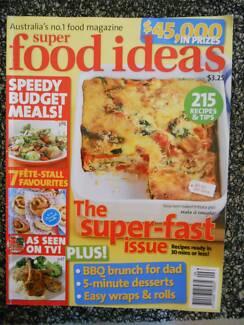 Food magazines super food ideas taste good food etc magazines super food ideas magazine issue 85 sept 2007 recipes fast meals forumfinder Choice Image