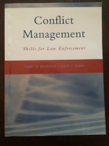 POLICE FOUNDATIONS TEXTBOOK - CONFLICT MANAGEMENT London Ontario image 1
