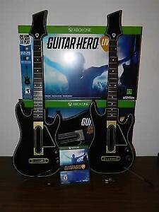 Guitar hero live for Xbox one, two guitars!!