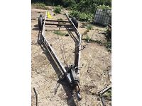CHASSIS TWIN AXLE CAR TRANSPORTER BOAT TRAILER