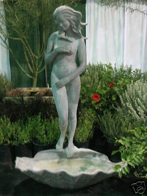7ft Botticelli Venus at Bath Outdoor Fiberglass statue