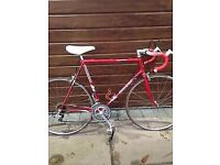 Raleigh pursuit road bike 1980s