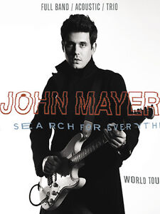 BELOW COST - John Mayer Tickets - April 3rd [SOLD OUT]