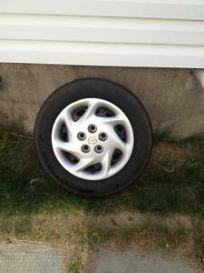 set of 4 tires & rims like new!!