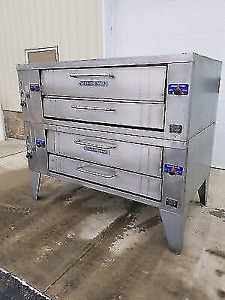 Commercial oven for sale Bakers Pride Double Deck  Oven