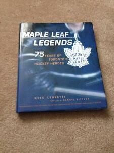 Maple Leaf Legends -75 years of TO's hockey hero's 1927-2002 $20