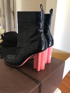 Louis Vuitton Runway Collection Ankle Boots Melbourne CBD Melbourne City Preview