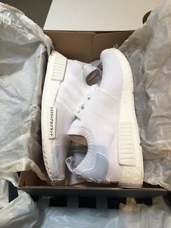 Brand new adidas nmd triple white 9.5 with receipt