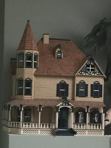 Victorian Gingerbread Doll House