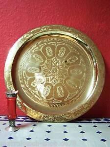Orient Arabische Marokkanisches Orientalisches Tablett Serviertablett Teetablett