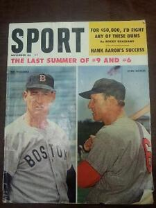 1960's Vintage Baseball magazine ( Ted Williams & Stan Musial )