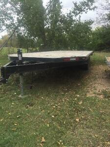 22 Foot Sled/Atv Four place trailer