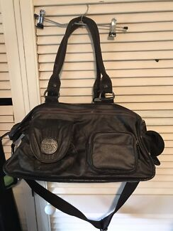 Mimco lucid baby bag brown