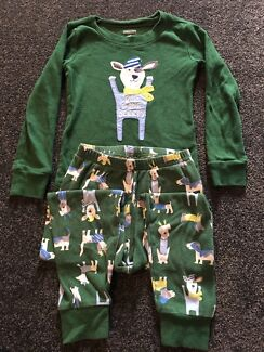 9 pairs of size 4 unisex pjs - 4 x imported Gymboree