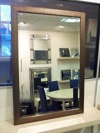 Wall Mirror in Bronze Mesh frame. 101 x 71cm. BNIB. RRP £100 (Debenhams)