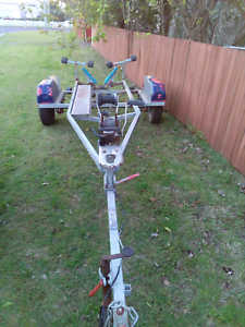 Boat trailer suit up to 18ft boat in good condition with rego Ipswich Ipswich City Preview