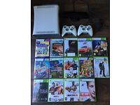 Xbox 360 + 2 controllers + kinect + 14 games