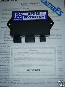 Dynatek digital ignition for 660 Yamaha Rhino