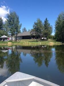 2 homes on 10ac with privately stocked lake. Kelowna BC Edmonton Edmonton Area image 1