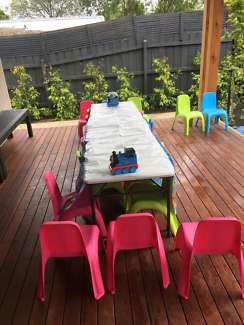Kids party chairs for hire