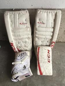 CCM Goalie pads / glove / blocker
