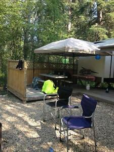 Seasonal camping lot for sale. Stergeon lake camp ground