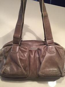Rudsak:: sac à main ou épaule en cuir grège