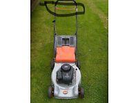 Flymo lawnmower petrol Briggs and Stanton engine