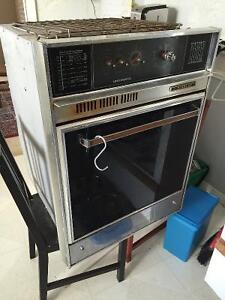 Findlay wall oven and stove top
