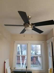 "Contemporary 52"" Ceiling Light Fan"