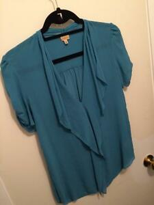 Talula Babaton Tinsley blouse100% silk  Kitchener / Waterloo Kitchener Area image 1