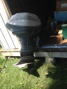 1965 Evinrude 60 HP Sport Four Motor London Ontario image 3