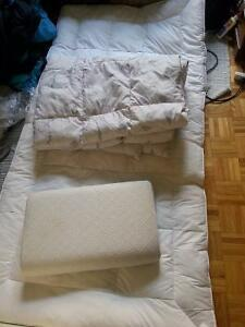 Feather Mattress Toppers,Feather Fill Duvet and pillow